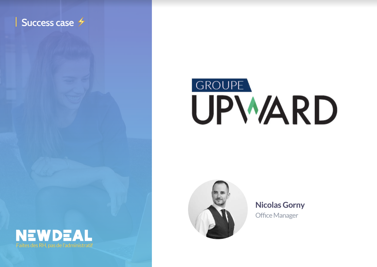 Success case groupe Upward
